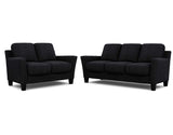 Alana 2 Seater + 3 Seater Lounge Package Belemnite Midnight