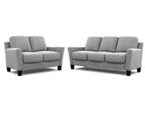 Alana 2 Seater + 3 Seater Lounge Package Ammonite Smoke
