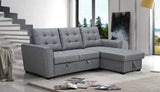 3 Seater Sofabed with Storage Chaise