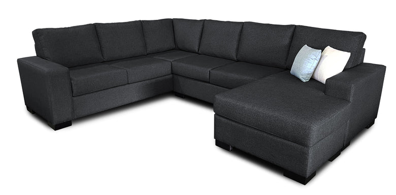 6 Seater Corner Modular with Reversible Chaise