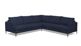 Benz 5 Seater Corner Modular Alice Denim