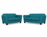 Bingo 2 Seater + 2.5 Seater Lounge Package Profile Global Aqua
