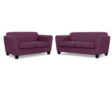 Bingo 2 Seater + 2.5 Seater Lounge Package Profile Global Lavender