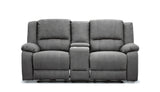 2 Seater with End Electric Recliners and Console