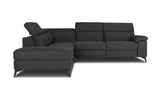 4 Seater Corner Chaise with End Electric Recliner