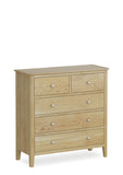 Bath Chest 2 Over 3 Drawers