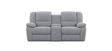 2 Seater with End Recliners and 1 Console