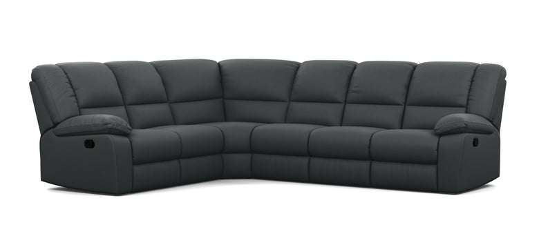 6 Seater Corner Modular with 5 Internal Recliners