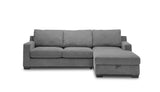3.5 Seater Double Sofabed with Storage Chaise