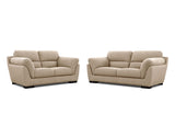 Le Grande 2 Seater + 2.5 Seater Lounge Package Fabric Ammonite Elmwood