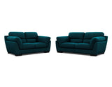 Le Grande 2 Seater + 2.5 Seater Lounge Package Fabric Ammonite Surf