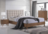 Noosa 4 Piece Bedroom Suite with Bed, 2 Bedside Tables and Tall Boy