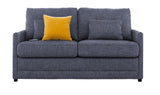 Softee Double Sofa Bed in Pepper fabric