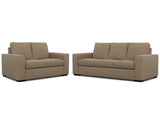 Urban 2 Seater + 3 Seater Lounge Package Fabric Buckskin Beige