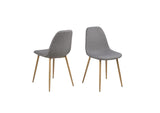 Wesley Light Grey Dining Chairs