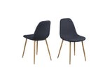 Wesley Blue Dining Chairs