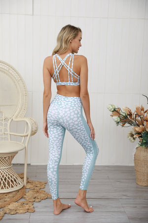 Mint Dot Leggings