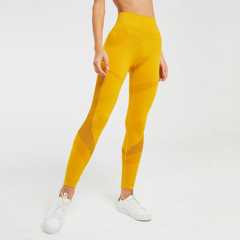 Hollow Out Gym Leggings