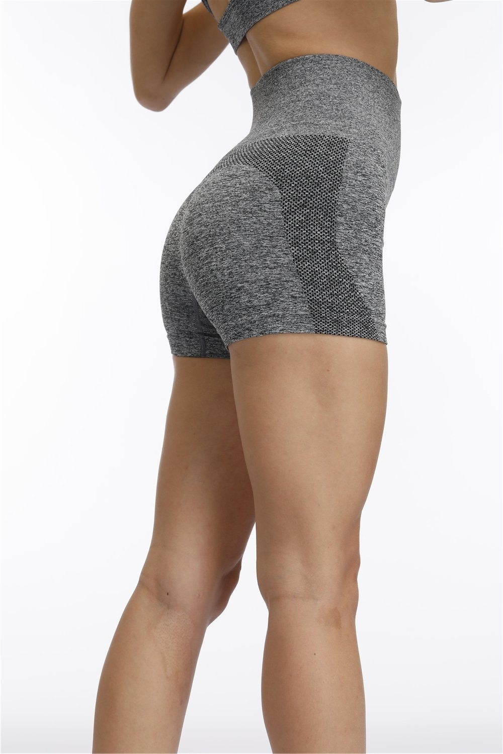 High Waist Seamless Shorts