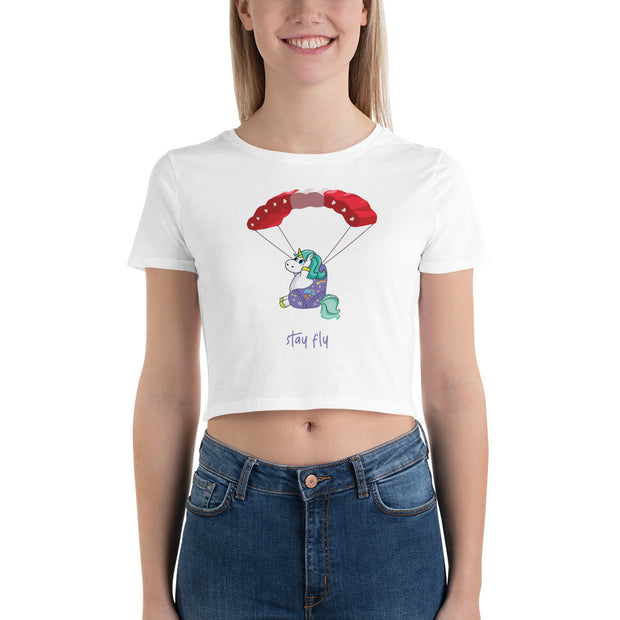 Stay Fly Crop Top