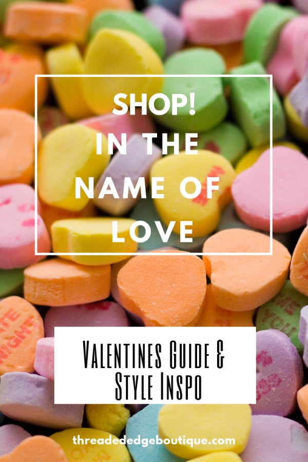 SHOP! In the Name of Love