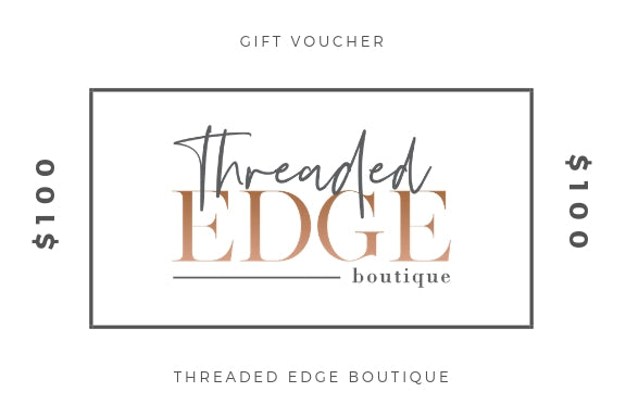 Threaded Edge Boutique - $100 Gift Card