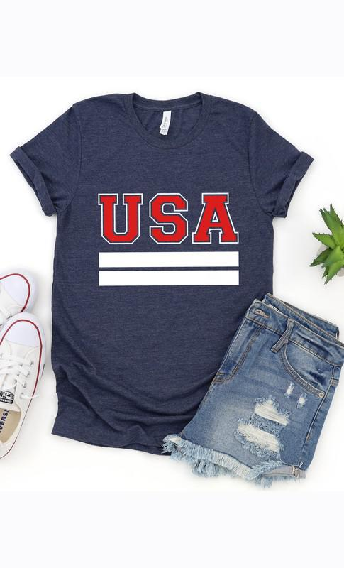 USA Navy Graphic Tee