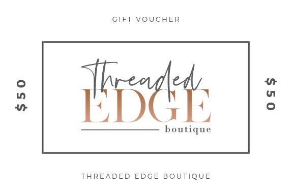 Threaded Edge Boutique Gift Card - $50