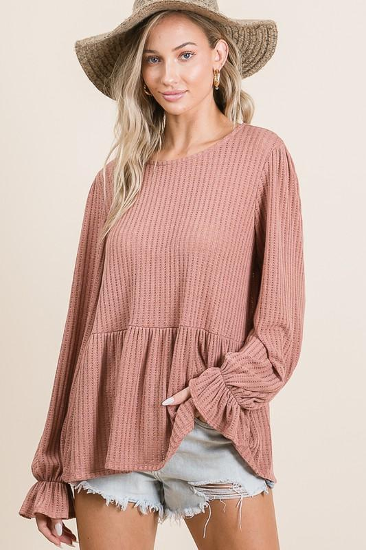 Remember Me Ruffle Top