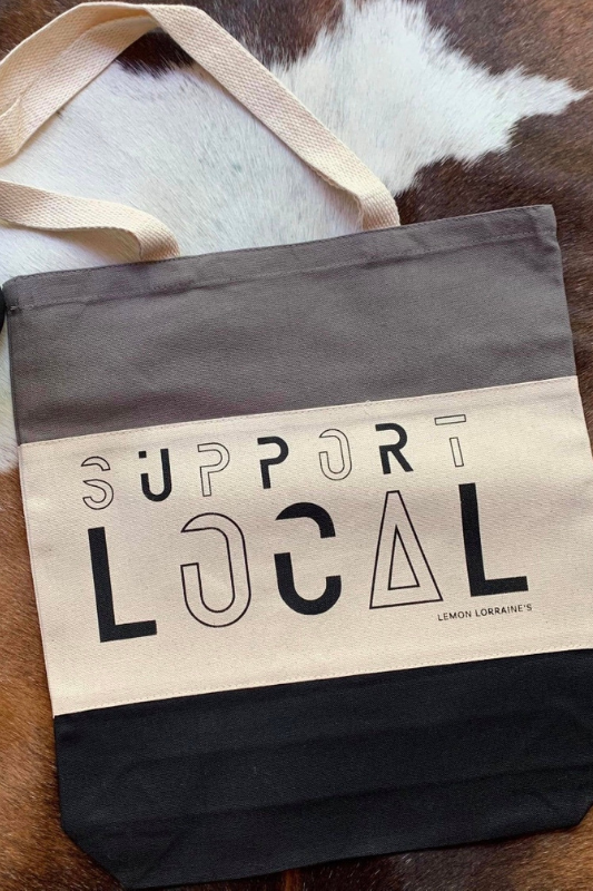 SUPPORT LOCAL - Canvas Tote