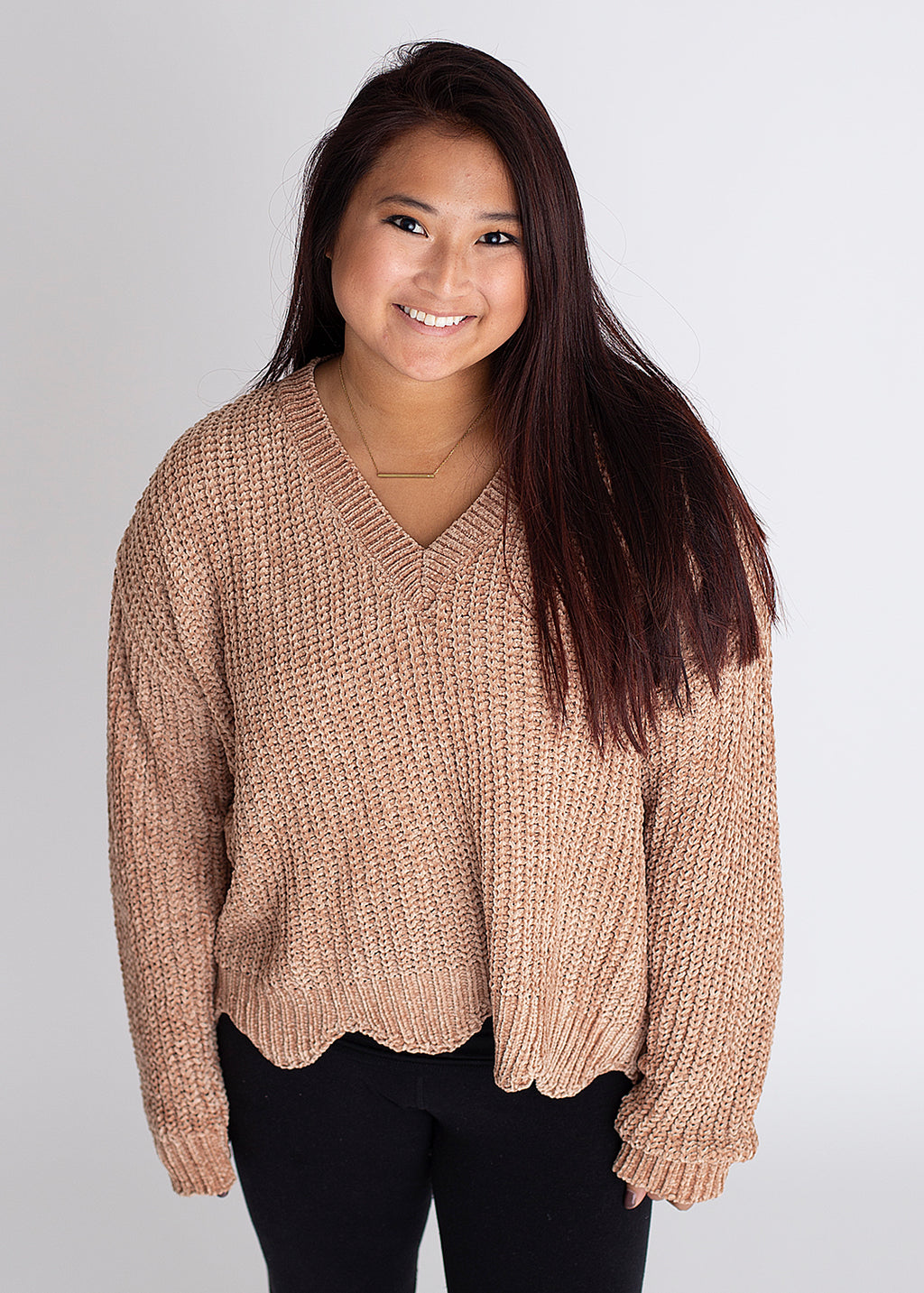 Wild West Scallop Sweater