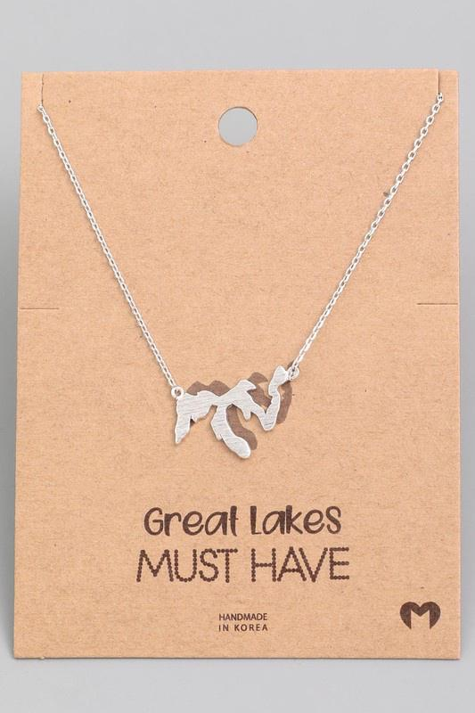 Great Lakes Pendant Necklace
