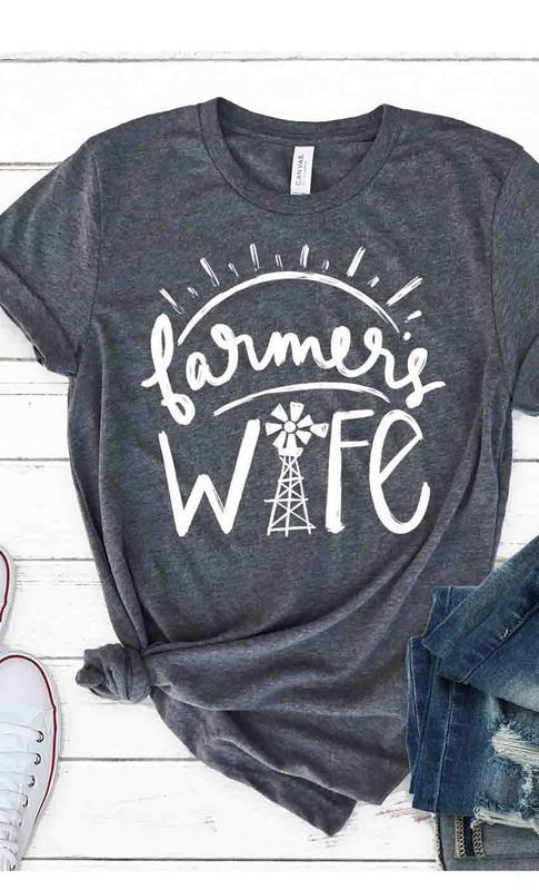 Farmer's Wife Graphic Tee