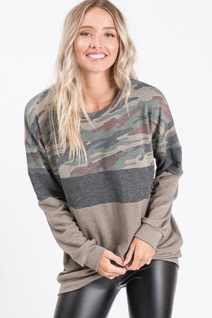 Can't Be Tamed Camo Long Sleeve