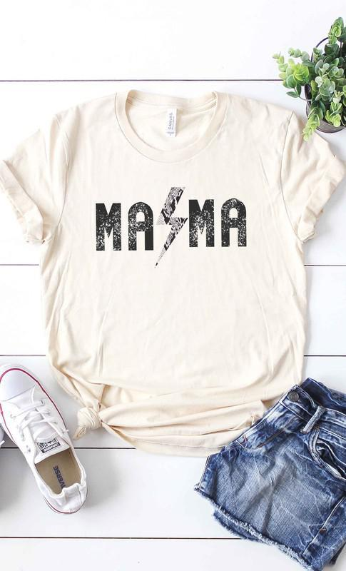 Rock & Roll Mama Graphic Tee