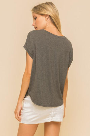 So Soft Graphic Short Sleeve Top