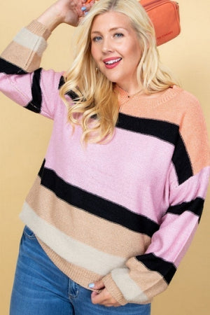 That's What Love Is Stripe Sweater