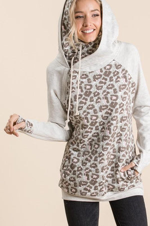 Lay Low Leopard Double Hoodie