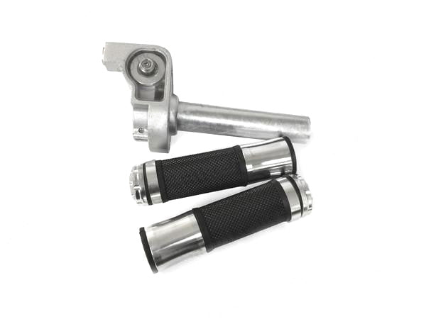 Phatmoto Aluminum Throttle Handle Set - Silver