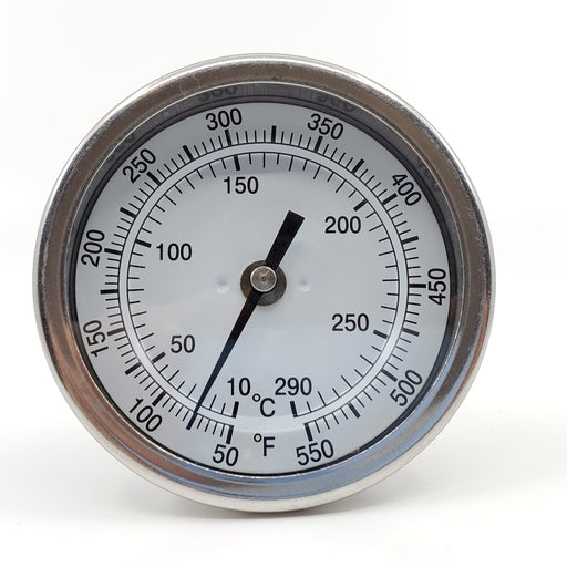 "3"" Adjustable Dial Thermometer With 4"" Stem"