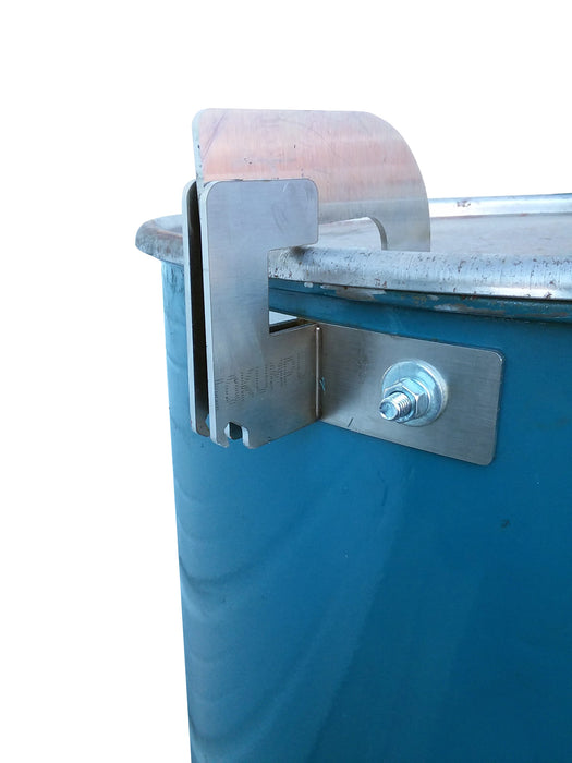 Stainless Steel Lid Hinge With Beer Opener Built In