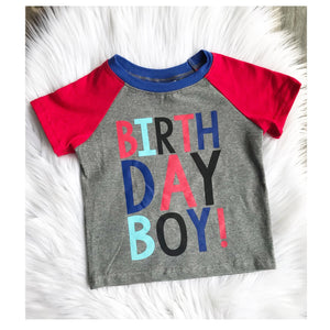 Birthday Boy Graphic T-Shirt