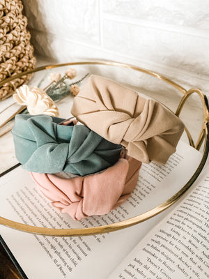 Solid Knotted Headbands