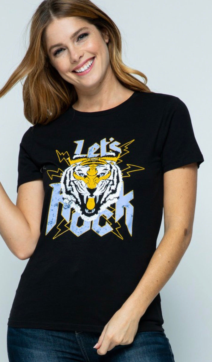 Let's ROCK Graphic Tee