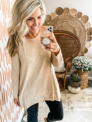 Light Honey Tunic Top