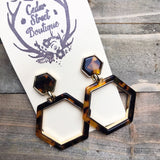 Cedar Street Tortoise Shell Earrings