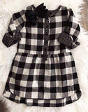 TEA Collection: Checkered Plaid Dress