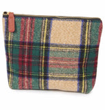 Plaid Pouch/Cosmetic Bag