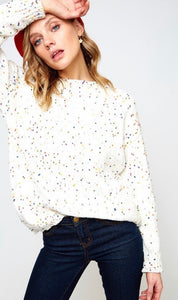Confetti Speckled Sweater