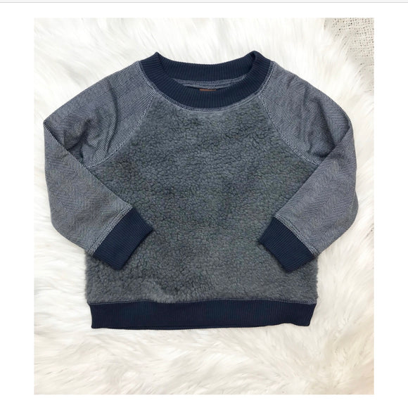 TEA Collection Blue Fleece Sweatshirt